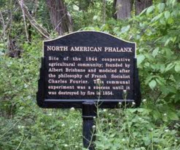 Fourier, Brisbane, Associationism, and Phalanxes