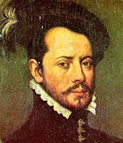 Hernan Cortes lands on the Yucatan Peninsula and begins Aztec Overthrow