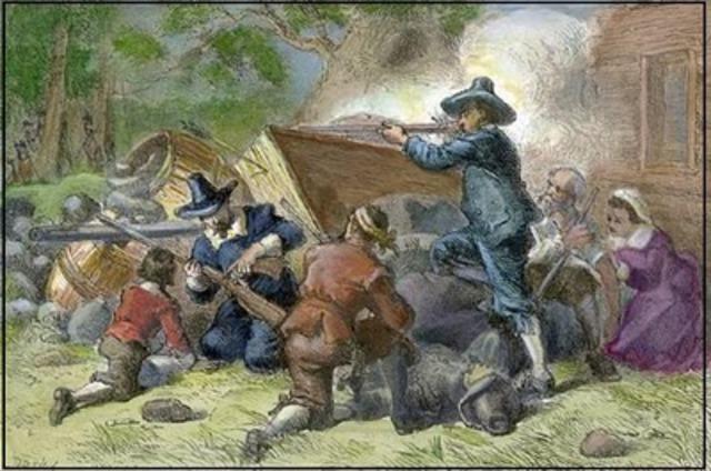 Bacon's Rebellion: 1675-1676