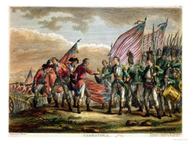 Battle of Saratoga: Sept 19 - October 17