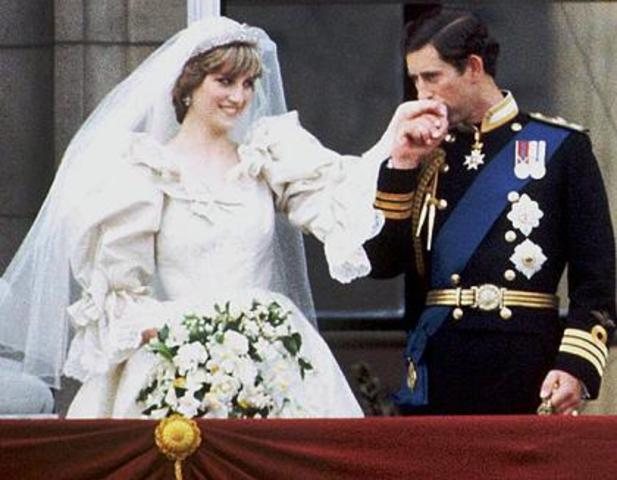 Wedding of Lady Diana and Prince Charles