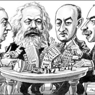 Historia del análisis y el pensamiento económico timeline