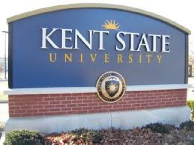 Graduated from Kent State University