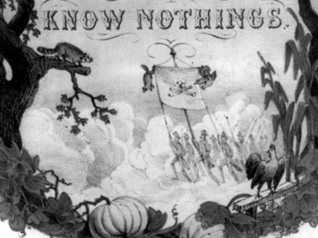 Rise and Fall of the Know-Nothing Party