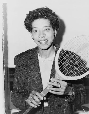 Tennis- Althea Gibson (1956-1958)