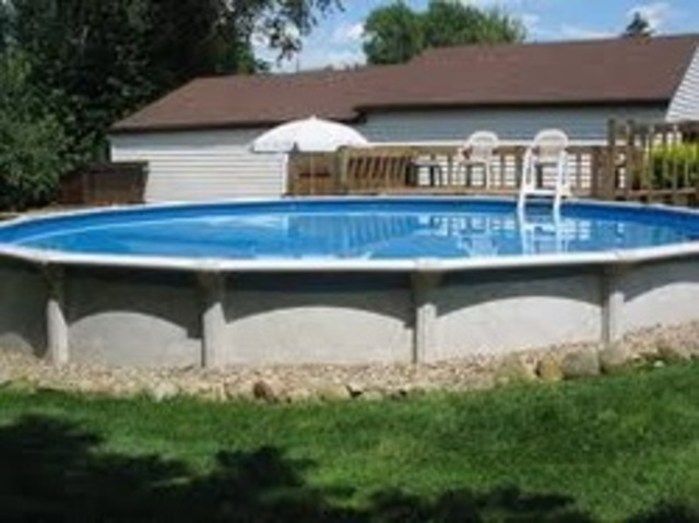 Is when we got our pool