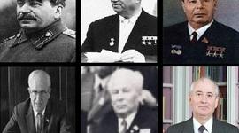 Presidentes de la URSS durante la Guerra Fría (1945-1991) timeline