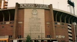 Memorial Stadium timeline