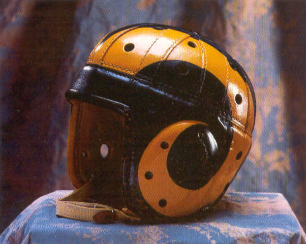 Football Helmet Painting : History of the football helmet timeline timetoast timelines