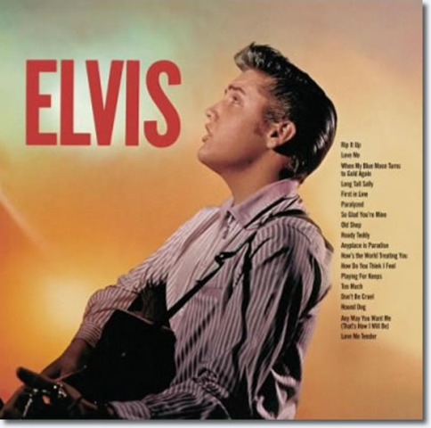 He sold over one million copies of his first album, Elvis.