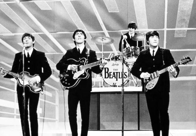 Music and Sports: The Beatles perform on the Ed Sullivan Show
