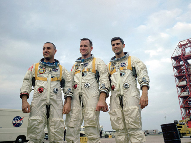 3 Us astronauts killed during launch