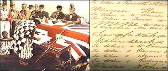 Treaty signed by 500