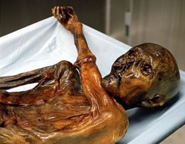 science and technology: man found frozen in mountains