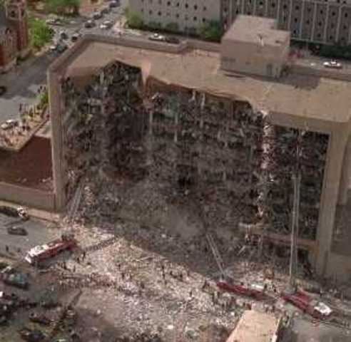 science and technology: oklahoma city bombing