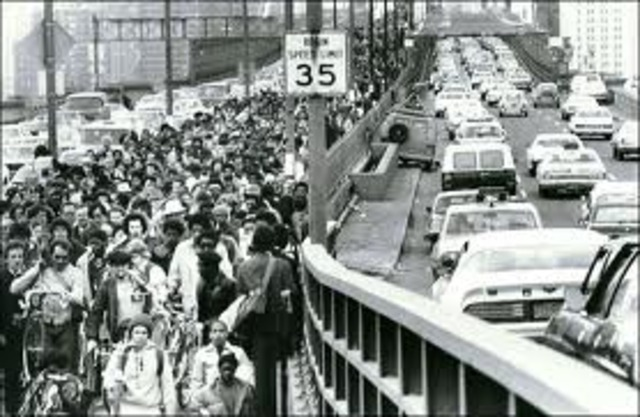 On this day in history 12 day transit worker strike shuts down New York City NY subway