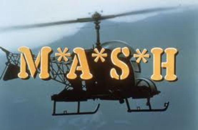 TV series MASH airs