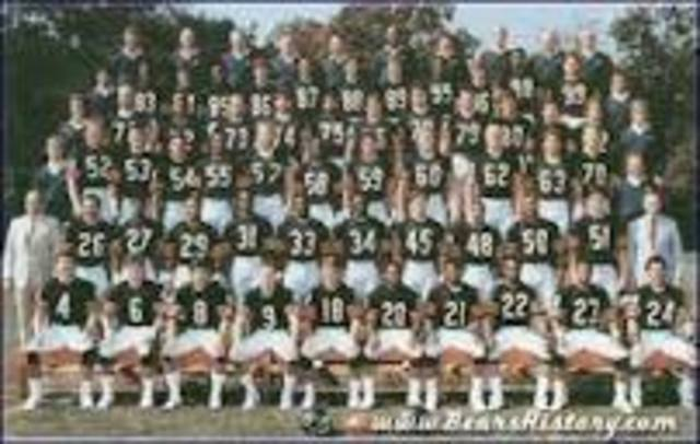 1985 bears defensive team is considered the best.