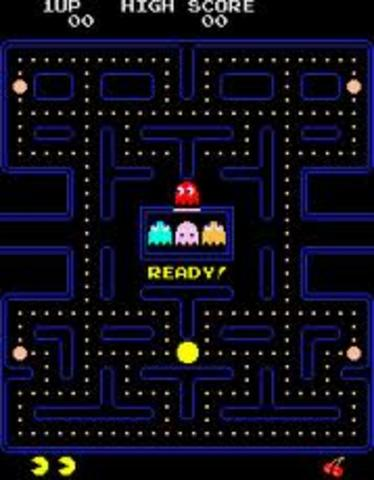 Pac-man video game was released