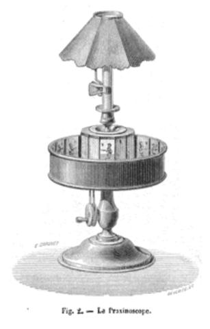 Praxinoscope invented
