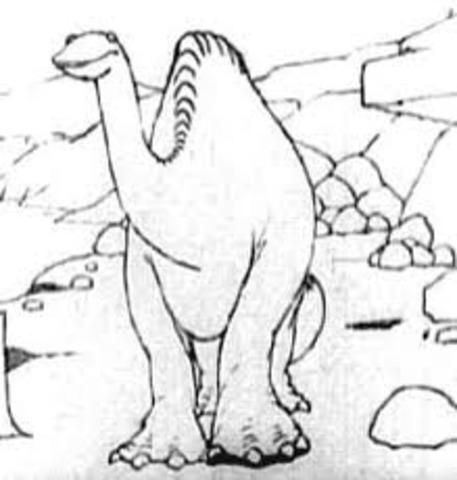Gertie the dinosaur created