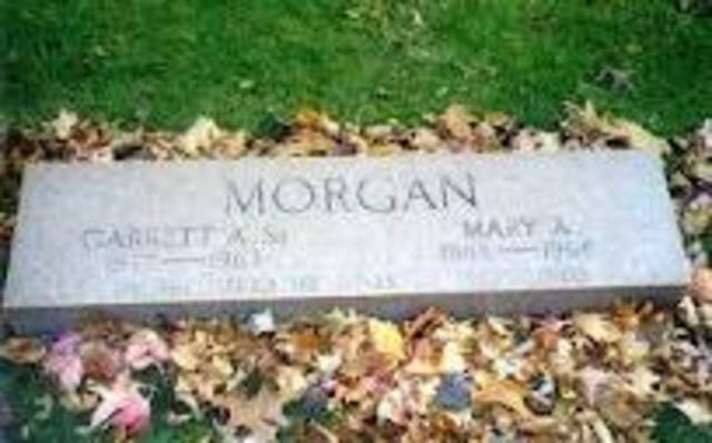 Garrett Morgan died at the age of 86.