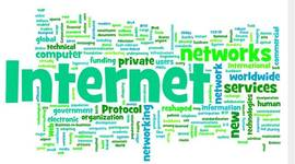 Timeline of the history of the internet