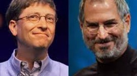 Biografia de Bill Gates y Steve Jobs timeline