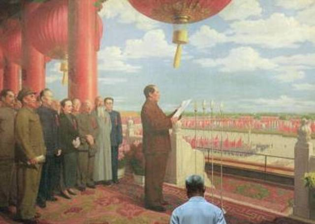 Mao Forms the People's Republic of China