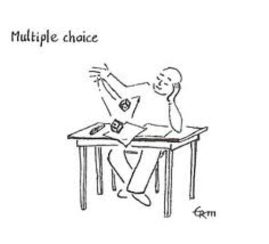 Calculator Section of Multiple Choice