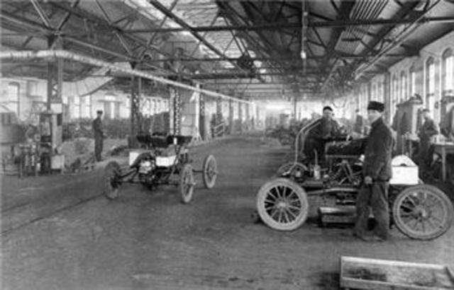 Olds Automobile Factory Starts Production