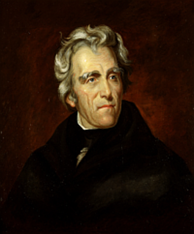 Seventh President : Andrew Jackson 1829-1837