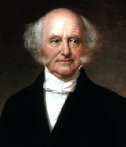 Eighth President : Martin Van Buren 1837-1841