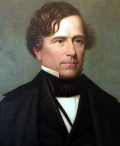 Fourteenth President : Franklin Pierce 1853-1857
