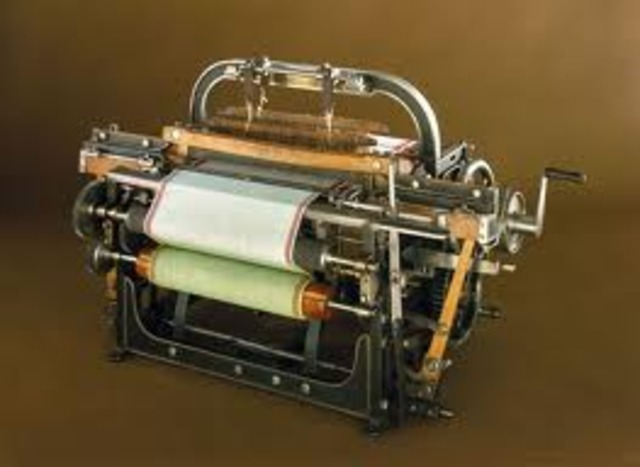 The First Power Loom - Edmund Cartwright