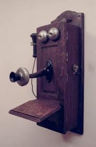 The First Telephone - Alexander Graham Bell