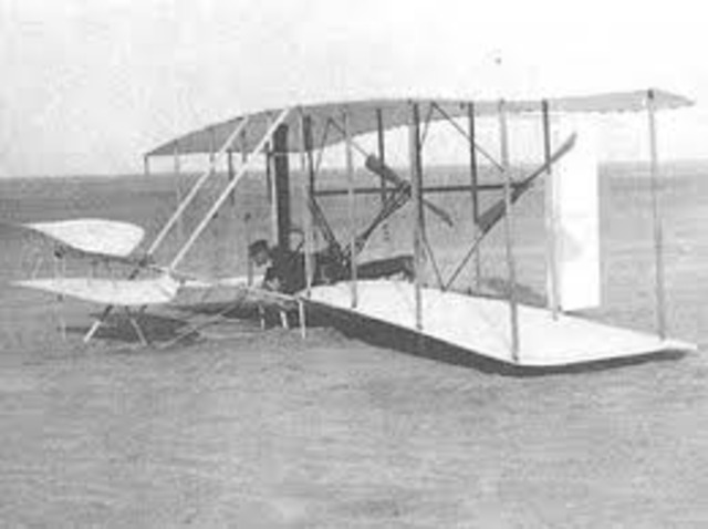 The First Powered Flight - Orville and Wilbur Wright