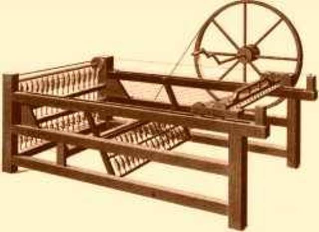 The First Spinning Jenny - James Hargreaves
