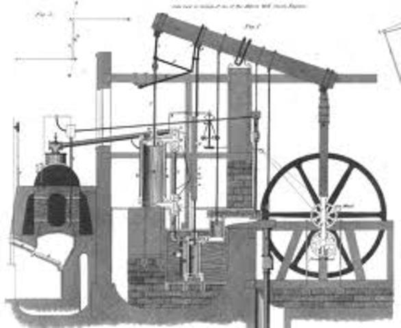 The First Effientient Steam Engine - James Watt