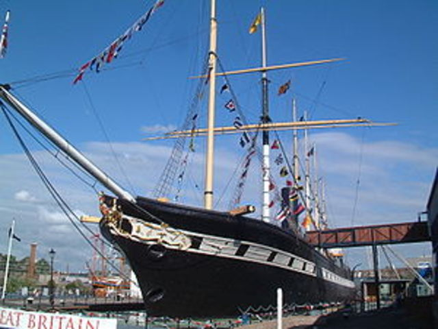 The Fisrt Large, Iron, Screw Propelled Steamship - Isambard Kingdom Brunel