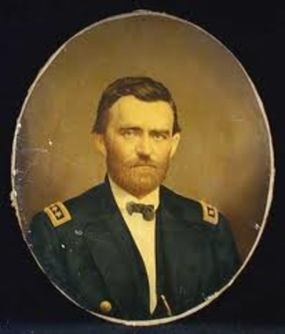 ulysses grant comes out of the military