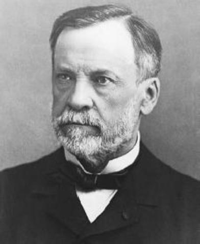 Louis Pasteur is born