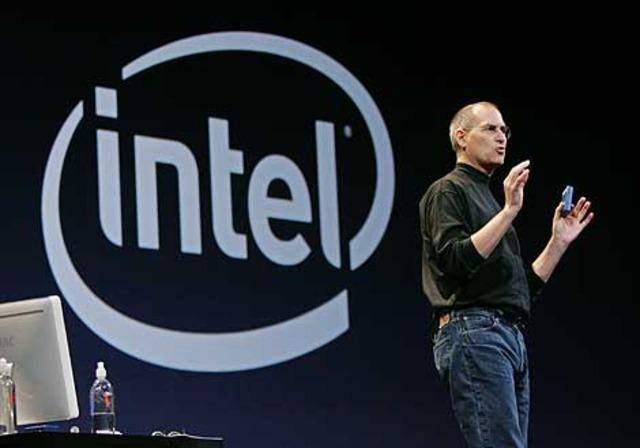 Jobs firma un contrato con Intel