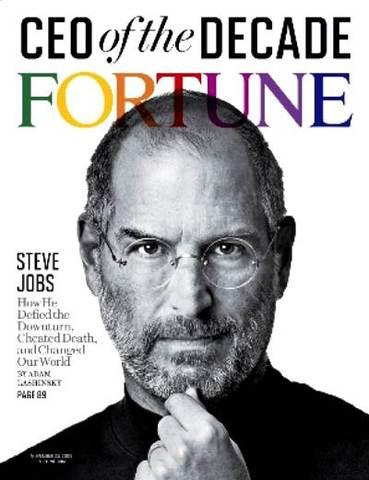 Steve Jobs  fue elegido director ejecutivo del año por la revista Harvard Business Review