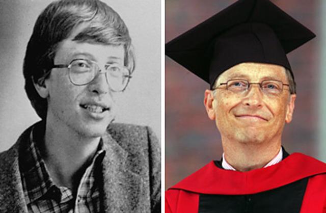 Bill Gates deja la universidad