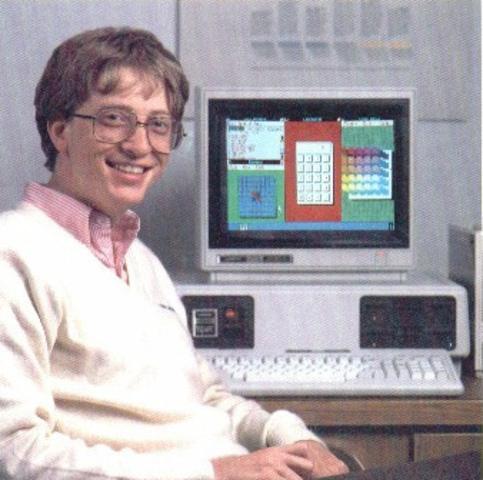 Bill Gates  se reunió con representantes de IBM