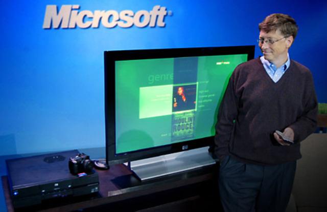 El os Microsoft de Bill Gates  se utilizaba en la mayor parte de los ordenadores del planeta.