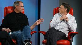 Steve Jobs- Bill Gates timeline