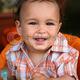 Stock photo cute toddler boy smiling 12806713