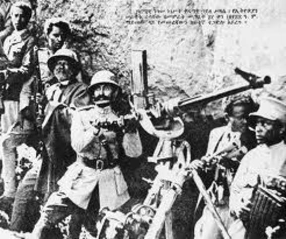 Fascist Italy invades, conquers, and annexes Ethiopia